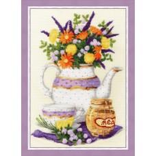 Набор для вышивания Золотое Руно СЖ-053 Лаванда и мед