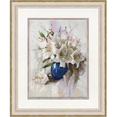 Набор для вышивки Золотое Руно СЖ-056 Белые лилии