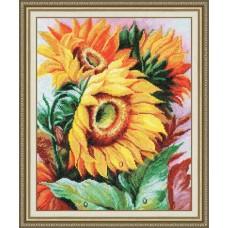 """Набор для вышивки Золотое Руно Т-009 """"Цветы солнца"""""""