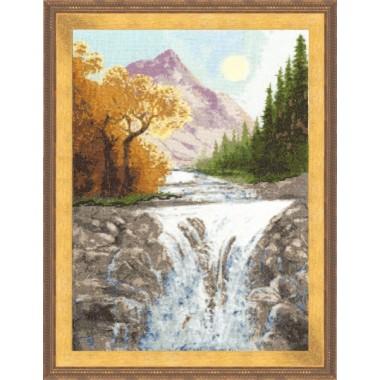 """Набор для вышивки крестом Золотое Руно ВМ-013 """"Осень в горах"""""""