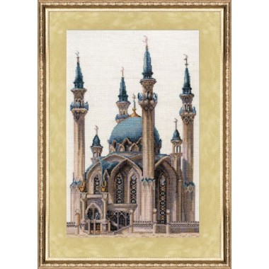 """Набор для вышивки крестом Золотое Руно ВС-002 """"Мечеть Кул-Шариф"""""""