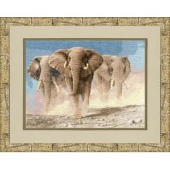 Набор для вышивания Золотое руно ЖС-008 Сердце Африки по мот.карт.Венинга Я.