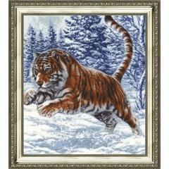 """Набор для вышивки Золотое руно ДЖ-019 """"Прыжок тигра"""""""