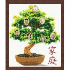 """Набор для вышивки Золотое руно ФТ-003 """"Фамильное дерево"""""""