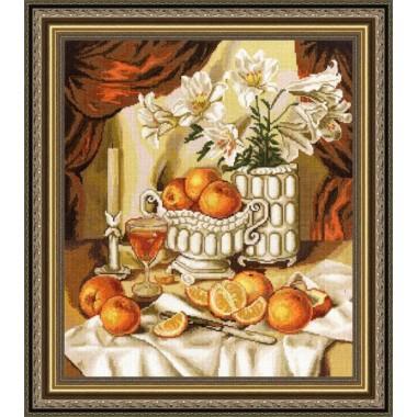 """Набор для вышивки крестом Золотое Руно ГН-010 """"Утренний сок"""""""