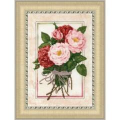 """Набор для вышивки Золотое руно КН-015 """"Винтажные розы"""""""