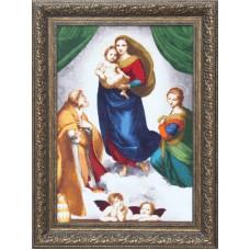 Набор для вышивания Золотое Руно МК-044 Сикстинская Мадонна