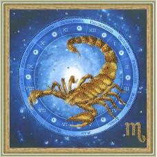 """Набор для вышивки Золотое руно РТ-056 """"Скорпион"""""""