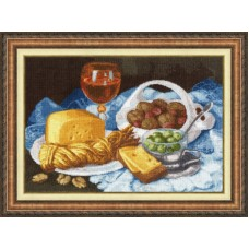 Набор для вышивки Золотое руно СЖ-048 Натюрморт с сыром