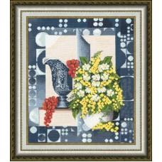 Набор для вышивания Золотое руно СЖ-032 Натюрморт с мимозой