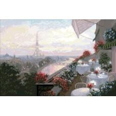 """Набор для вышивания крестиком Краса і Творчість 10409 """"Париж"""""""