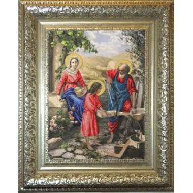 """Набор для вышивания бисером Краса і Творчість 10411 """"Святое семейство"""""""