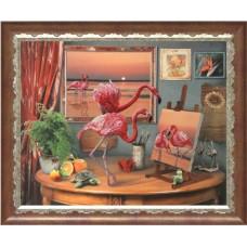 """Набор для вышивания бисером Краса і Творчість 10511 """"Фантазии моря"""""""