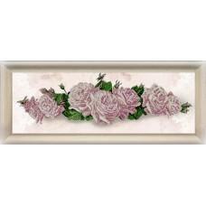 """Набор для вышивания бисером Краса і Творчість 10914 """"Цветочный реверанс"""""""