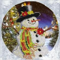 """Набор для вышивания бисером Краса і Творчість 10915 """"Рождественские истории 11"""""""