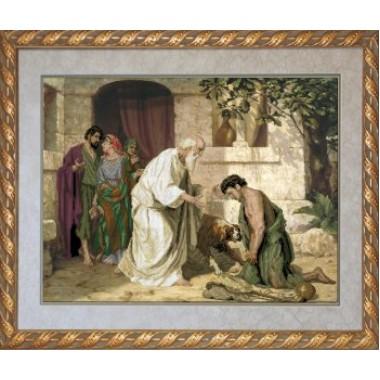 """Набор для вышивания крестиком Краса і Творчість 11010 """"Возвращение блудного сына"""""""