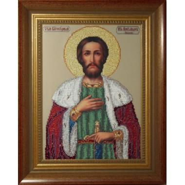 """Набор для вышивания бисером Краса і Творчість 11209 """"Св. Александр"""""""