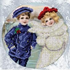 """Набор для вышивания бисером Краса і Творчість 11214 """"Рождественские истории 10"""""""