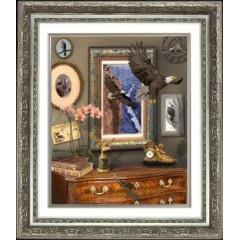 "Набор для вышивания крестиком Краса і Творчість 20111 ""Полет орла"""
