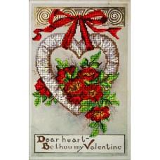 """Набор для вышивания бисером Краса і Творчість 20115 """"День Св.Валентина 2"""""""