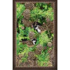 """Набор для вышивания бисером Краса і Творчість 20213 """"Настроение леса"""""""