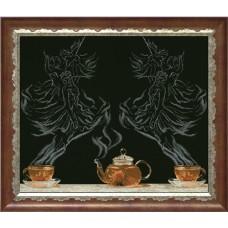 "Набор для вышивания крестиком Краса і Творчість 20713 ""Чайная фантазия - балет 1"""