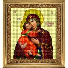 """Набор для вышивания бисером Краса і Творчість 20913 """"Владимирская икона"""""""