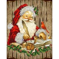 """Набор для вышивания бисером Краса і Творчість 20915 """"Рождественские истории 12"""""""