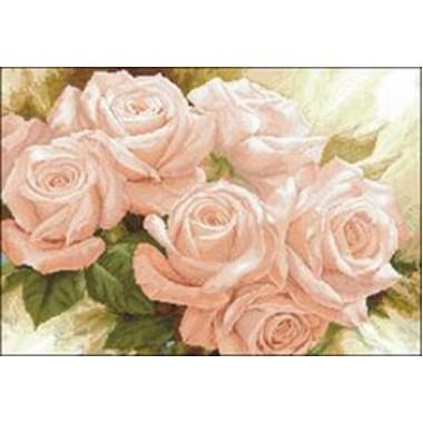 """Набор для вышивания крестиком Краса і Творчість 21008 """"Королева цветов"""""""