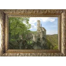 """Набор для вышивания крестиком Краса і Творчість 21012 """"Замок Лихтенштейн"""""""