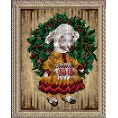 """Набор для вышивания бисером Краса і Творчість 21114 """"Рождественские истории 2"""""""