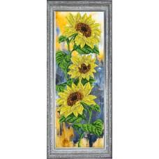 """Набор для вышивания бисером Краса і Творчість 21115 """"Цветок солнца"""""""