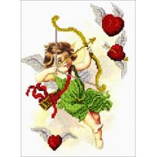 """Набор для вышивания бисером Краса і Творчість 30115 """"День Св.Валентина 3"""""""