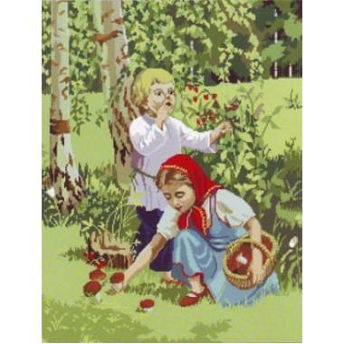 "Набор для вышивания крестиком Краса і Творчість 30508 ""Щедрое лето"""