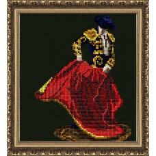 "Набор для вышивания бисером Краса і Творчість 30614 ""Огненный танец"""
