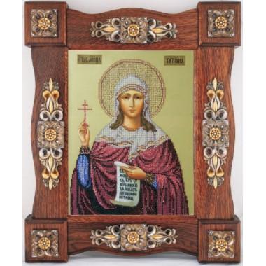 """Набор для вышивания бисером Краса і Творчість 31009 """"Св. Татиана"""""""