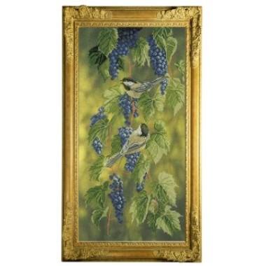 "Набор для вышивания крестиком Краса і Творчість 31010 ""Синие брызги"""