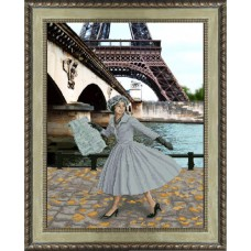 "Набор для вышивания крестиком Краса і Творчість 31013 ""Опять в Париже листопад"""