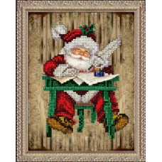 """Набор для вышивания бисером Краса і Творчість 31114 """"Рождественские истории 3"""""""