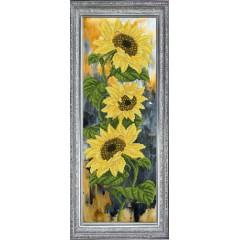 """Набор для вышивания крестиком Краса і Творчість 31115 """"Цветок солнца 1"""""""