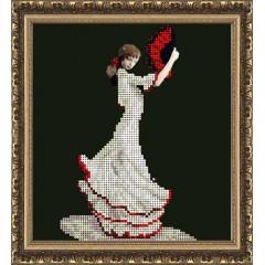 """Набор для вышивания бисером Краса і Творчість 40614 """"Танец страсти"""""""