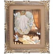 """Набор для вышивания крестиком Краса і Творчість 40911 """"Ангел сна"""""""