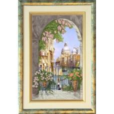 """Набор для вышивания крестиком Краса і Творчість 41012 """"Венецианская сказка 1"""""""