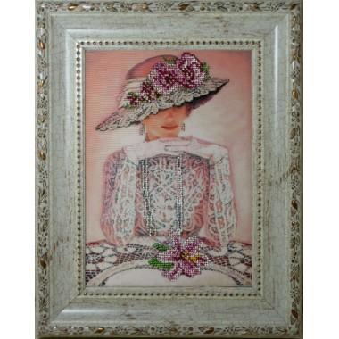 """Набор для вышивания бисером Краса і Творчість 41209 """"Тайна"""""""