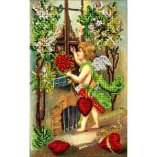 """Набор для вышивания бисером Краса і Творчість 50115 """"День Св.Валентина 5"""""""