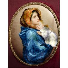 """Набор для вышивания бисером Краса і Творчість 50815 """"Мадонна с ребенком"""""""