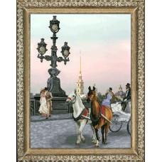 """Набор для вышивания крестиком Краса і Творчість 50912 """"Времена года.Лето"""""""