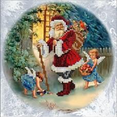 """Набор для вышивания бисером Краса і Творчість 50915 """"Рождественские истории 15"""""""