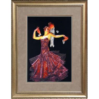 """Набор для вышивания бисером Краса і Творчість 51010 """"Танго"""""""