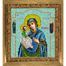 """Набор для вышивания бисером Краса і Творчість 51013 """"Иерусалимская икона"""""""